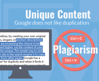 Digital Marketing Tips - Google does not like duplication