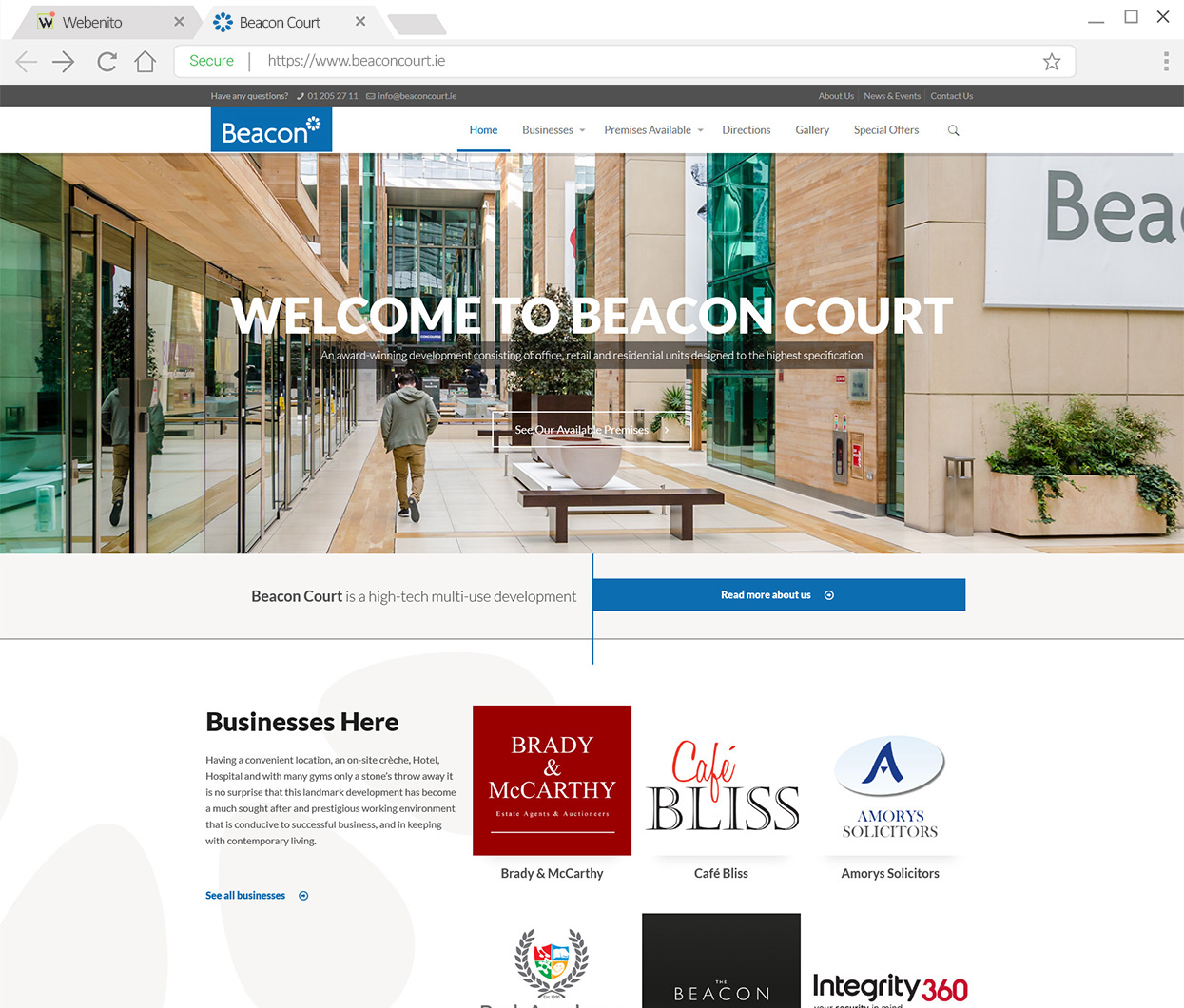 Webenito Case Study - Beacon Court