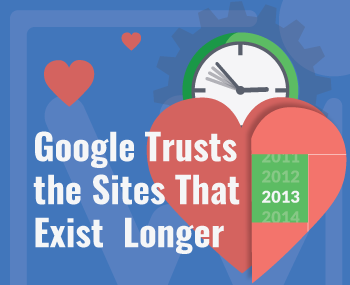 Digital Marketing Tips - Google trusts the sites that exist longer
