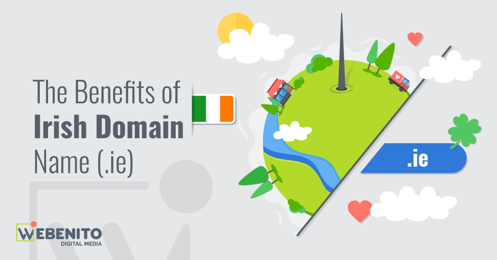 WEBENITO SEO Tips Ireland - The Benefits of Irish Domain Name (.ie)