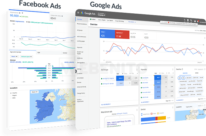 Pay-Per-Click Advertising for Startups & Businesses in Ireland