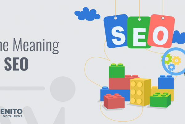 The Meaning of SEO presented by Webenito