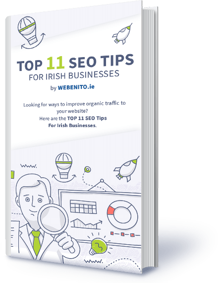 Top 11 SEO Tips for Irish Businesses Guide Cover